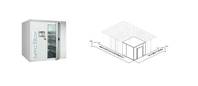 Chambre froide Sero'Box
