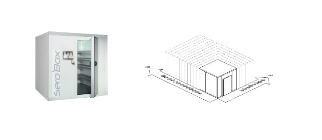 Chambre froide sur mesure - Sero'Box - SB CF xpro